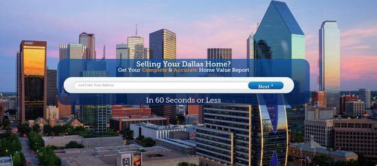 Dallas Home Valuation Website