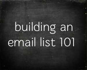 5 Tips for Building Your Real Estate Email List