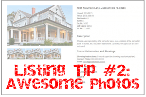Listing Tip #2: Listing Photos that Sell