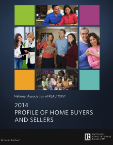 NAR 2014 Profile of Home Buyers and Sellers Report