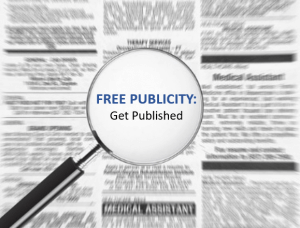 Free Publicity for Your Real Estate Business Part 3: Get Published
