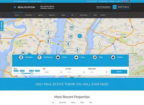 Realocation - WordPress Real Estate Themes