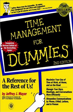 Time Management for Dummies  Jeffrey J. Mayer