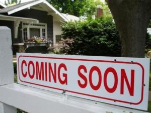 "Build Interest with ""Coming Soon"" Real Estate"