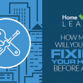 how much will you spend fixing your house before a sale